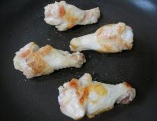 鶏手羽元の塩レモン焼き 調理①