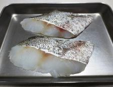 たら(鱈)のピリ辛テリヤキ 材料