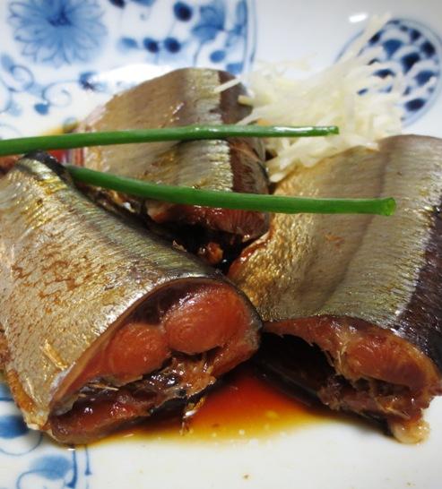 秋刀魚の醤油煮 B