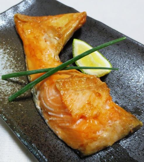 塩鮭のかま焼き B
