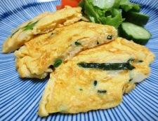 ねぎの卵炒め焼き 調理④