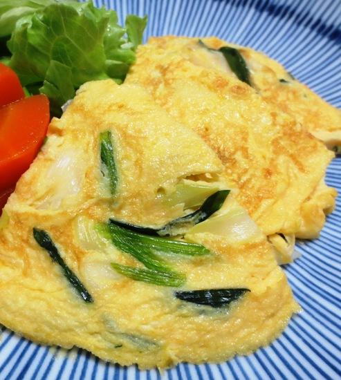 ねぎの卵炒め焼き B