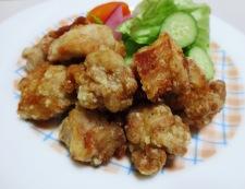 鶏の唐揚げ塩レモン風味 調理④