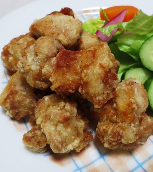 鶏の唐揚げ塩レモン風味 B