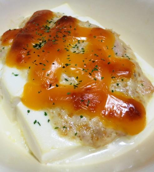 豆腐のツナマヨチーズ焼き B