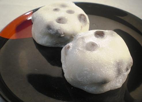 名代豆餅(出町ふたば)