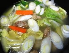 サムゲタンスープ 調理