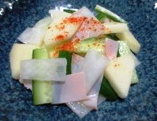 りんごと大根のサラダ 調理④