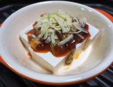 麻婆豆腐のチーズ焼き 調理④