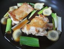 鶏もも肉の照り煮チャーシュー風 調理③