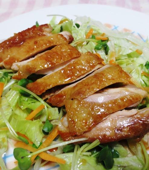 鶏もも肉の照り煮チャーシュー風 B