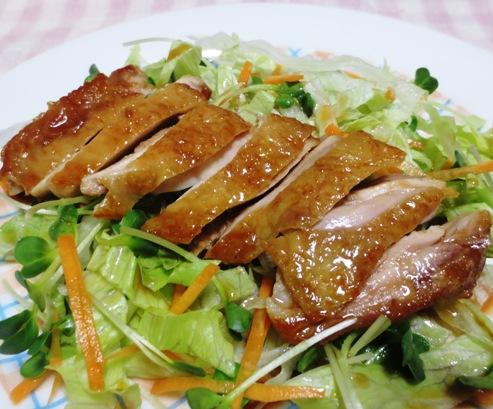 鶏もも肉の照り煮チャーシュー風 拡大横