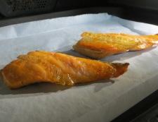 塩鮭とセロリのチャーハン 【下準備】①
