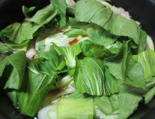 豆腐と青梗菜のうま煮 調理④