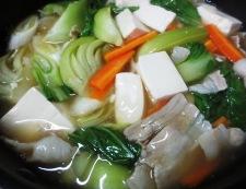豆腐と青梗菜のうま煮 調理⑤