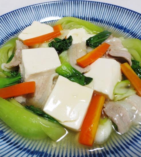 豆腐と青梗菜のうま煮 大