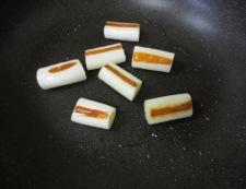 イカとねぎの柚子こしょうポン酢炒め 調理②