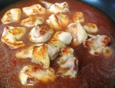鶏チリ(鶏もも肉のチリソース) 調理③