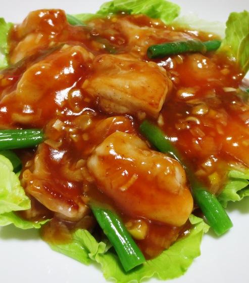 鶏チリ(鶏もも肉のチリソース) 大