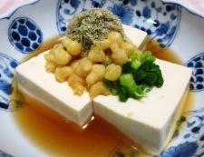 麺つゆとろろ昆布豆腐 調理②