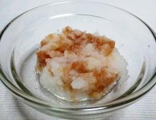 鶏胸肉の唐揚げ梅おろし添え 調理②