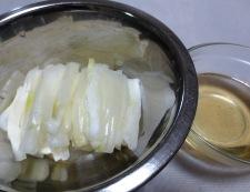 ピリ辛白菜 材料と調味料