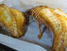 焼き魚のねぎみどり酢添え 調理③