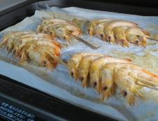 芝海老の塩焼き 調理②