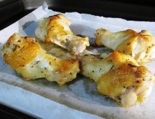 鶏手羽のタイム風味グリル 調理②