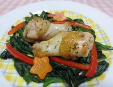 鶏手羽のタイム風味グリル 調理④
