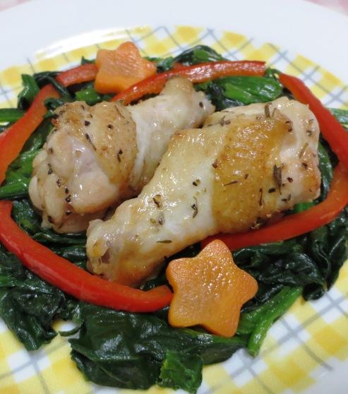 鶏手羽のタイム風味グリル B