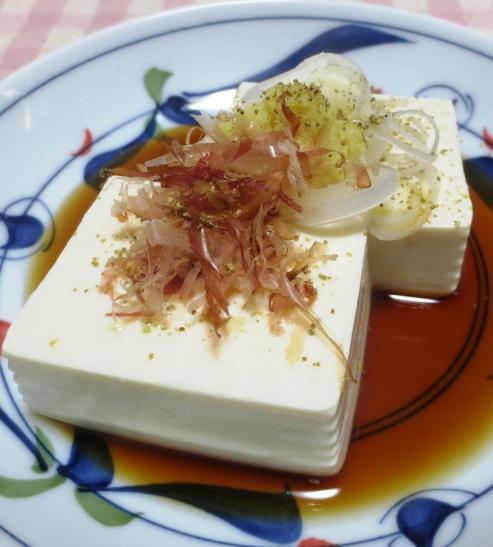 薬味温豆腐 B