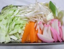 紀文ちゃぽん風の鍋餃子 調理①