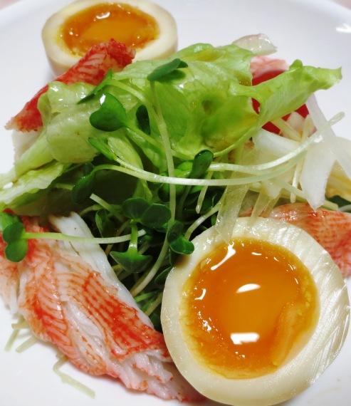 麺つゆ煮卵 拡大