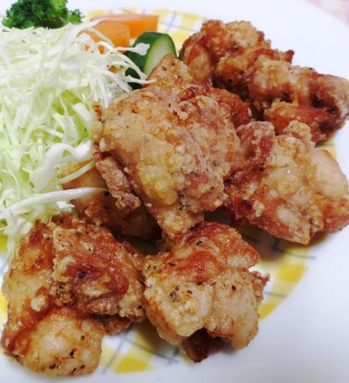 鶏の唐揚げ黒胡椒風味 B