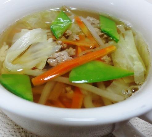 豚ひき肉スープ B