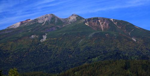 乗鞍岳秋景