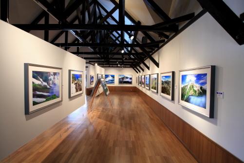 展示ホール北側