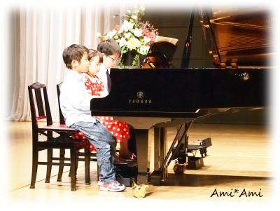 ピアノの発表会2013-4