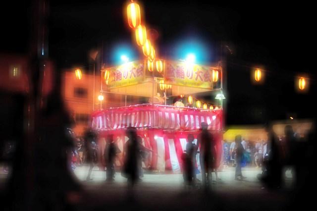 町内の盆踊り大会