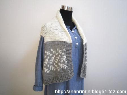 手編みベスト1