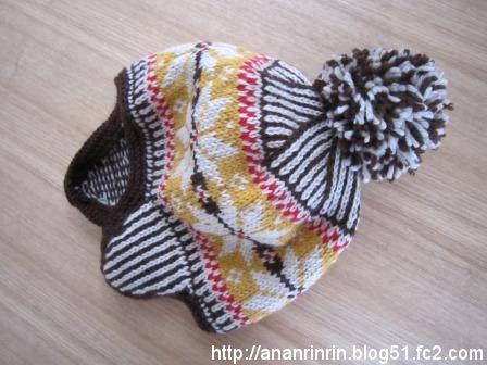 ボンボンニット帽2