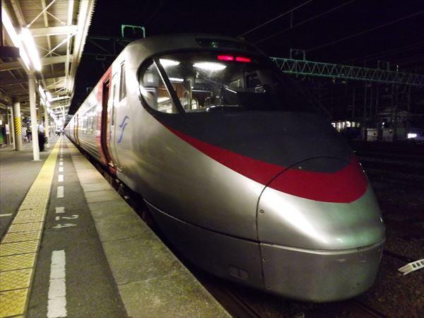 松山駅到着