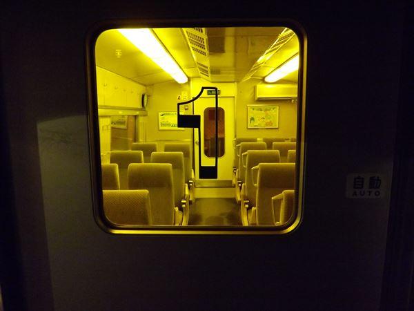 運転室側の扉は原型です