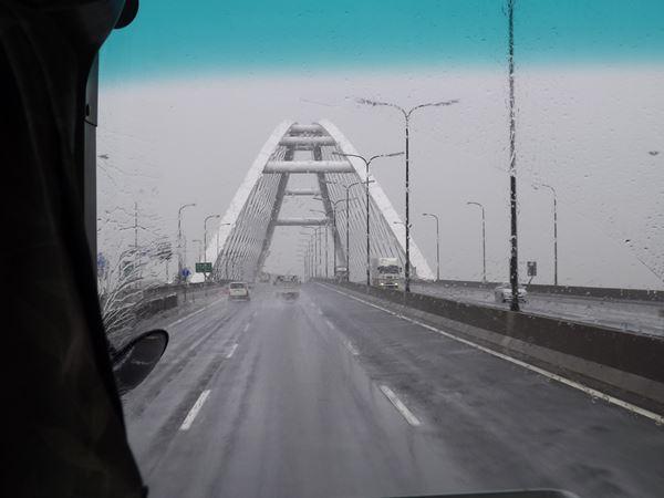 いろいろな橋が飽きさせません