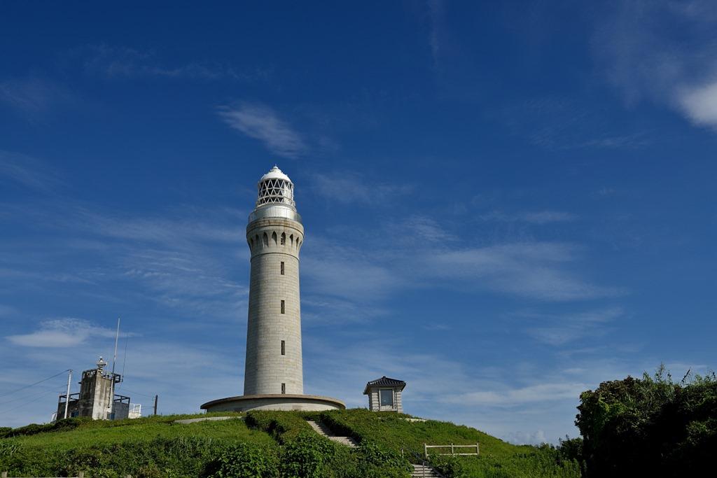 角島灯台. 8DS_0735