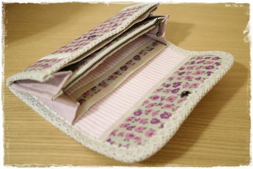 財布 ピンク1