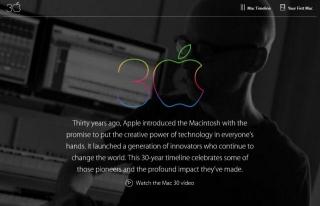 Mac 30周年