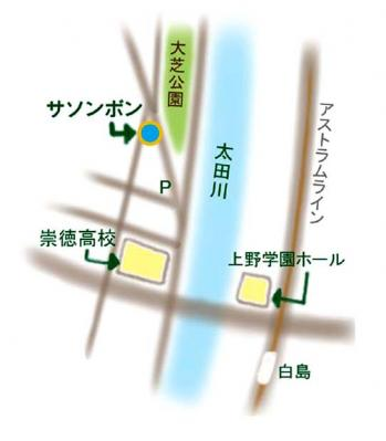 サソンボン案内状地図