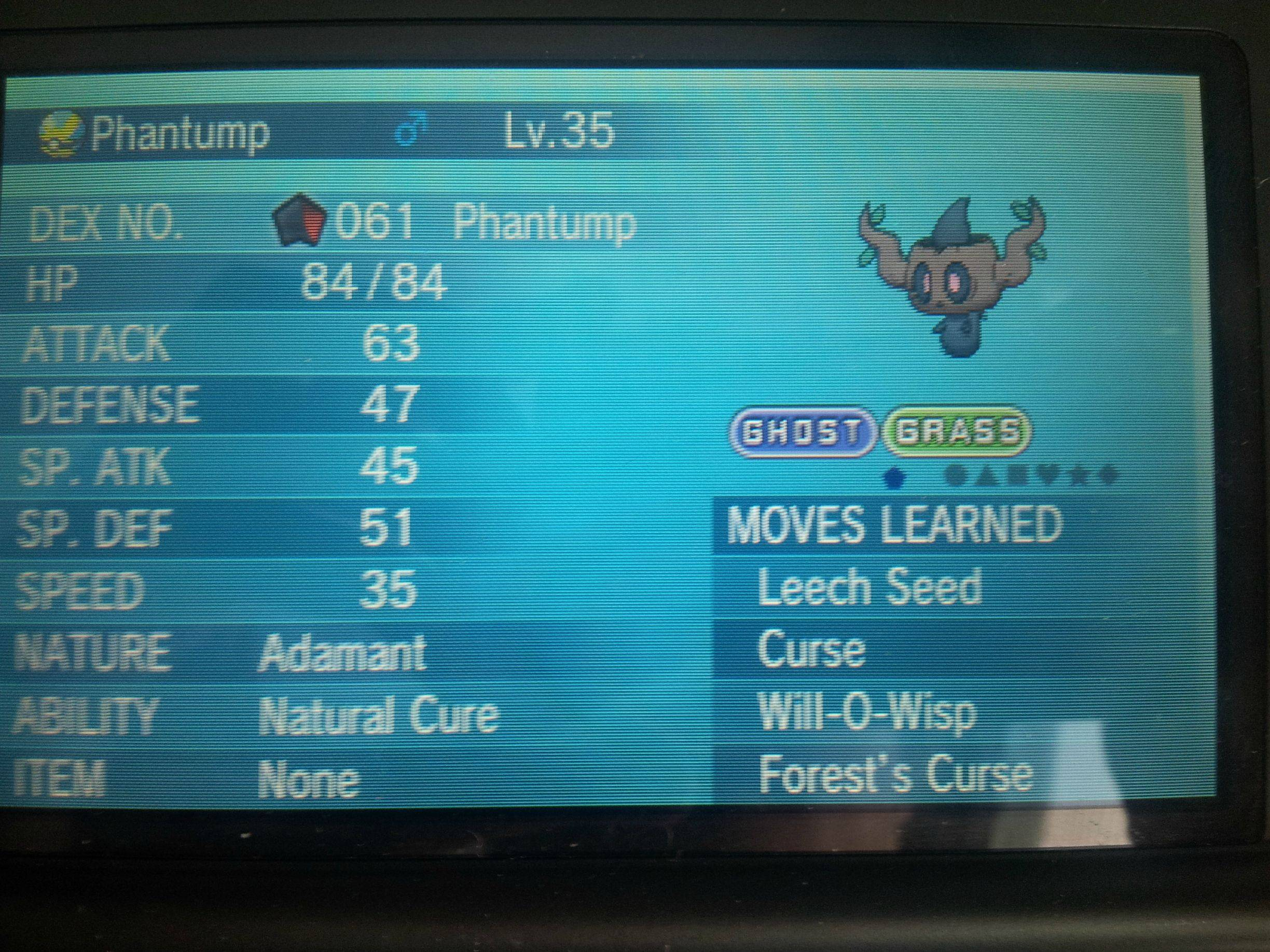 Phantump!